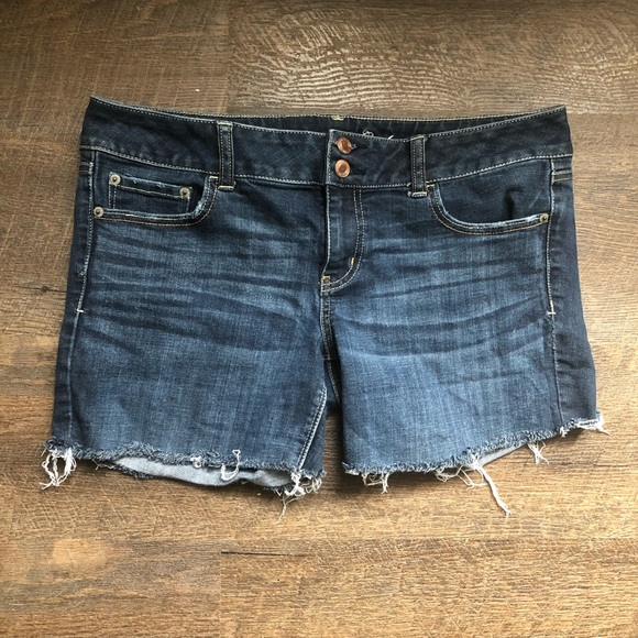 Cut Off Shorts Colour Blue/green Size 14 Clothing, Shoes & Accessories